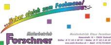 Sponsor, Malerbetrieb Forschner